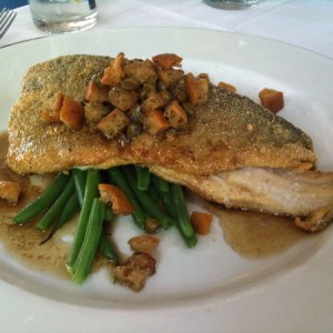 Pan Roasted Trout with Caper-Crouton Brown Butter