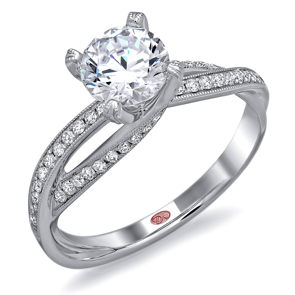 09 unique wedding rings Modern White Gold Engagement Rings