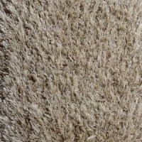 Ruffled rug - Beige