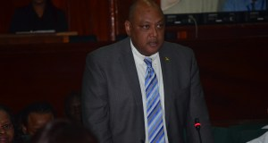 Minister of Natural Resources, Raphael Trotman.