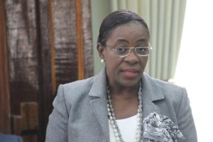 Junior Minister of Education, Nicolette Henry.