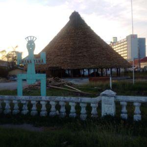 The rebuilt Umana Yana.