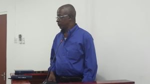 """MURDER ACCUSED: Kenneth Griffith- """"lock the door and leh deh sk...bun"""""""
