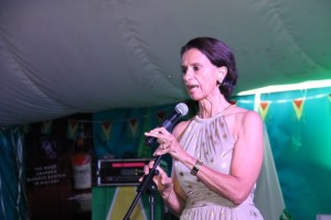 President of St. Maarten's Parliament, Sarah Wescot-Williams.