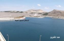 """فيضان كارثي لمياه نهر الفرات في سوريا متعمد من قبل تنظيم """"الدولة الإسلامية"""""""
