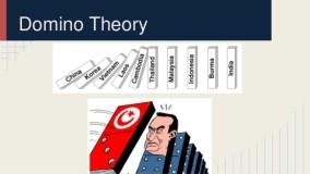 """نظرية الدومينو """"الاختراق الناعم في الشرق الأوسط وشمال افريقيا"""""""