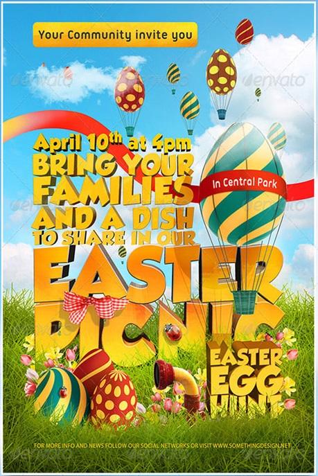 picnic flyer template - Www.takethemic.us