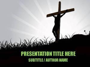 Salvation Through Christ PowerPoint Template1