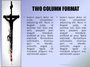 Salvation Through Christ PowerPoint Template2