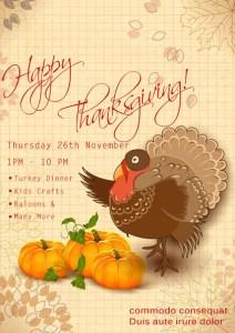 Thanksgiving Sale Flyer