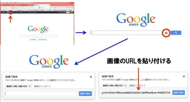 画像検索の手順