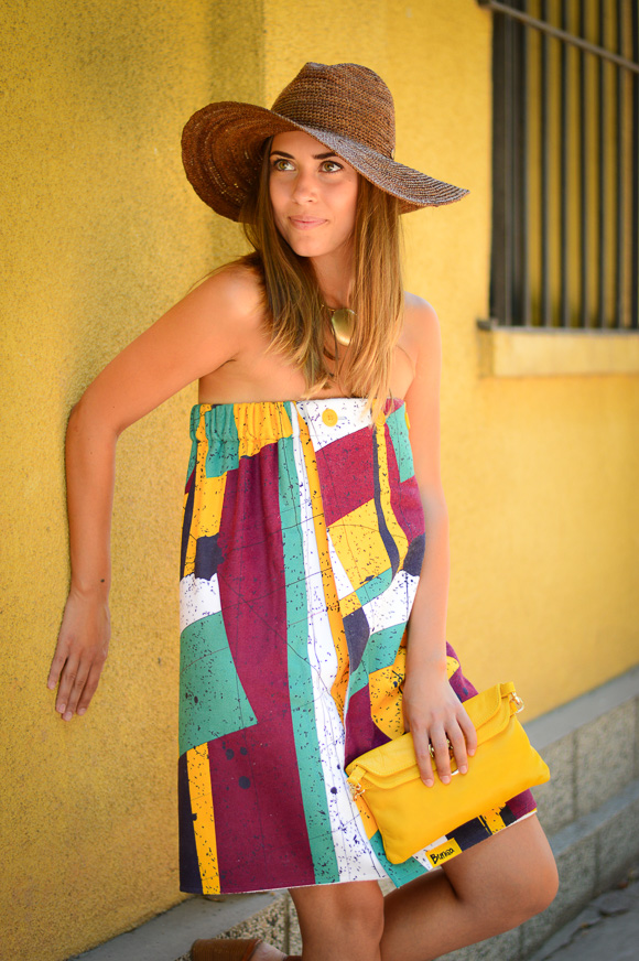 Beach Dress that transforms into skirt and towel and can be found in Bulgaria Mall
