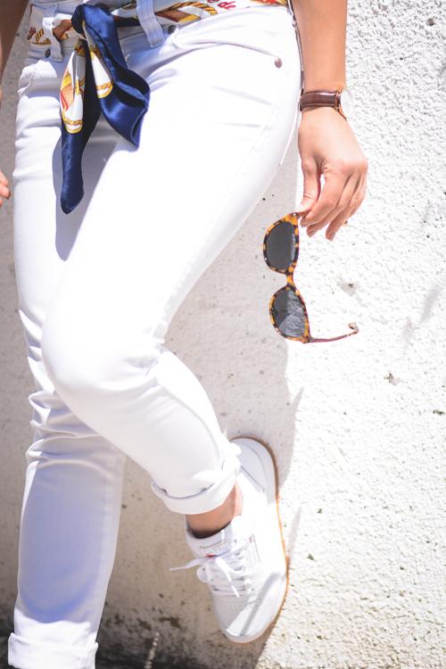 Reebok Classic and Clandestino Veneto Sun Glasses