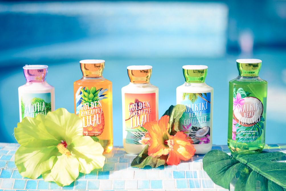 Bath & Body Works Bulgaria Aloha Hawaiian Party Beach Products