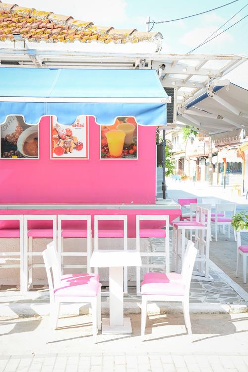 Greece Gelato Store