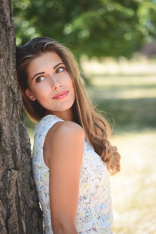 Beautiful Denina Martin wearing Wearing Esprit Lace Skirt