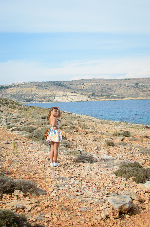 Denina Martin in Malta