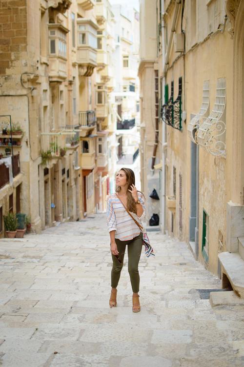 Exploring Malta city of Valletta