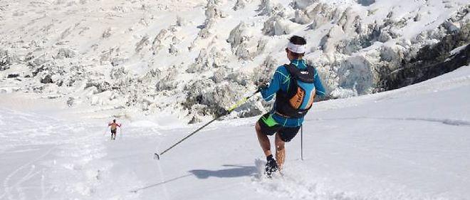 Descente mont blanc trail
