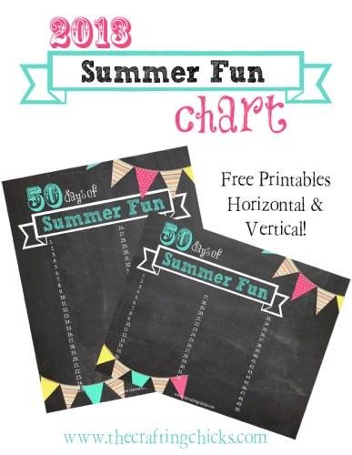 Summer Activities – Part 1