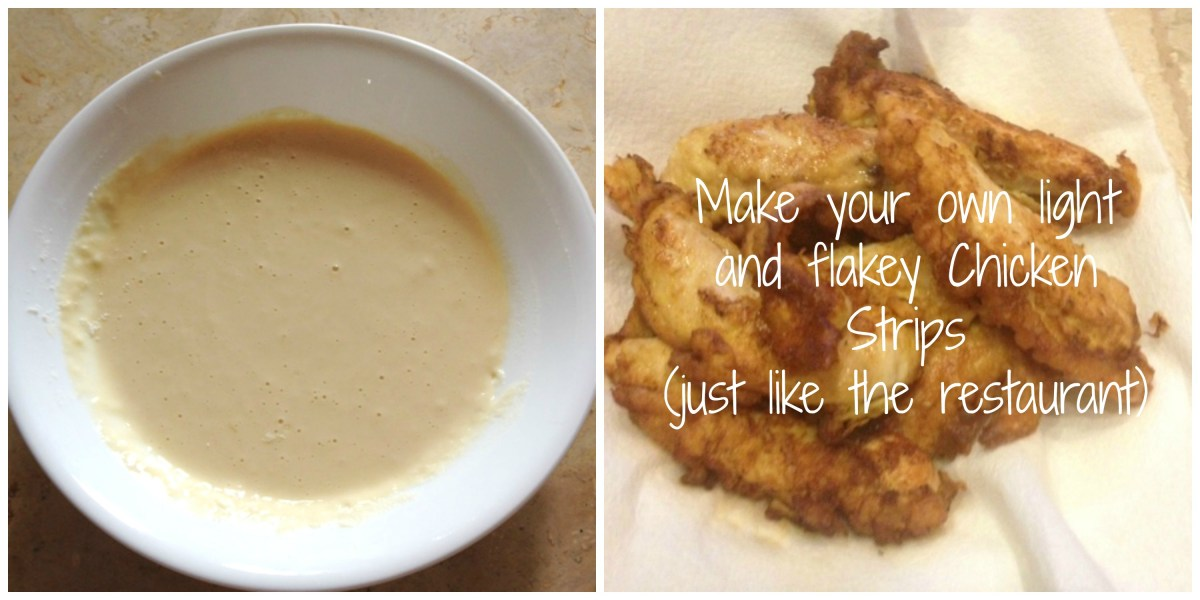 Easy Light and Fluffy Chicken Tenders Recipe