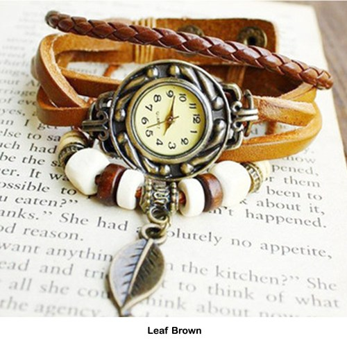 Boho-Chic Vintage Inspired Handmade Watch