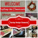 burlap feature 21 150x150 Christmas Mantel Decor
