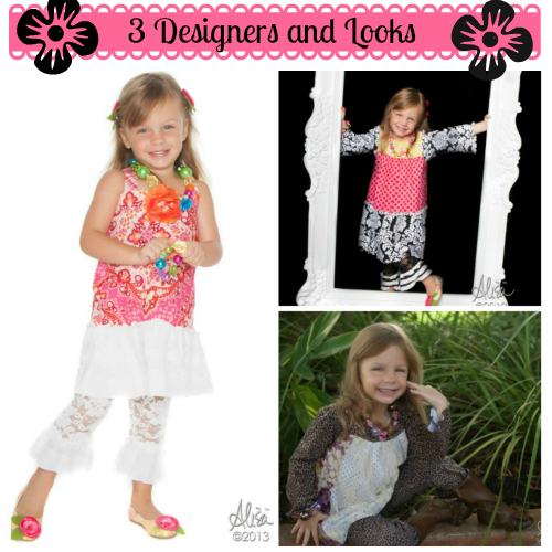 3 Children's Fashion Designers and Looks