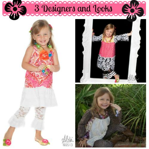 3 Children's Fashion Designers and Looks