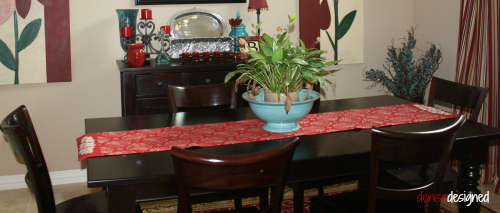 home tour dining table