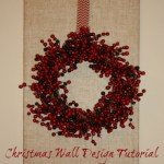 christmas wall design 500 150x150 Christmas Tablescape