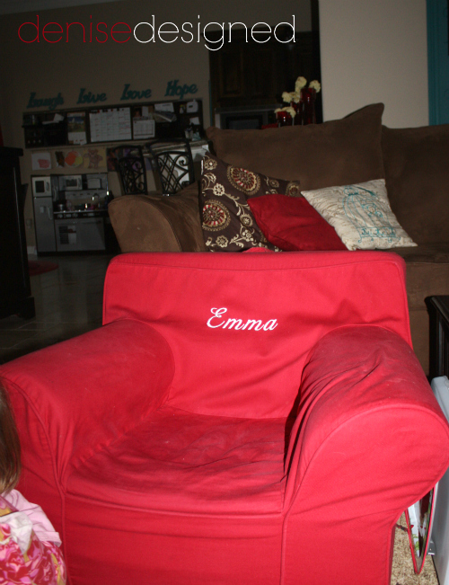living tour emma chair