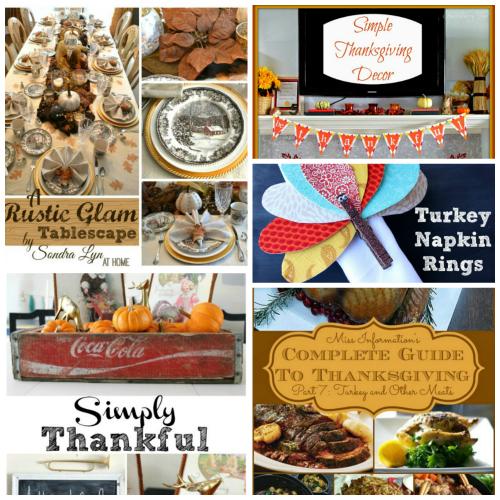Thanksgiving Round-up