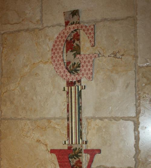 tday letter ribbon