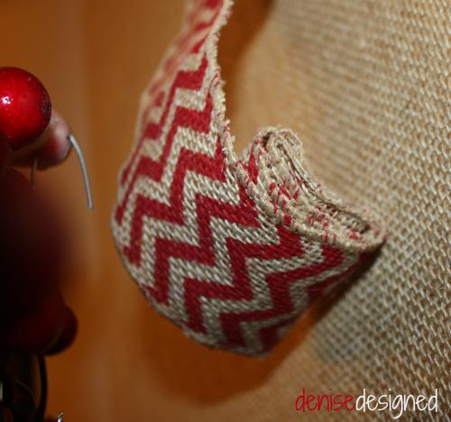 wall design folded ribbon