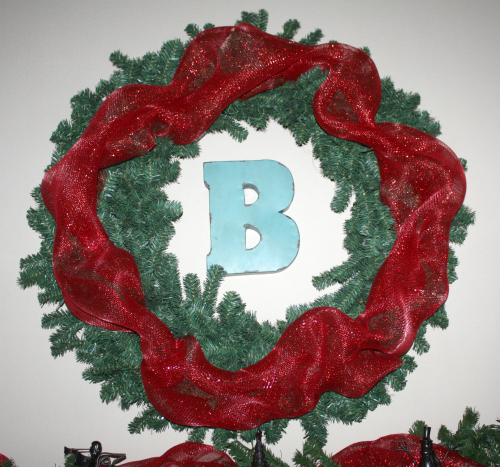 christmas home wreath Christmas Mantel Decor
