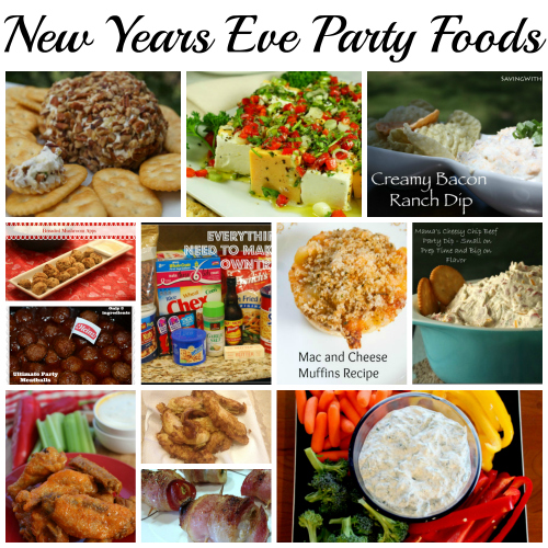 nye party foods