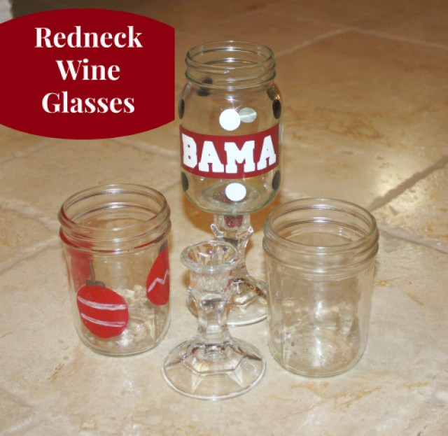 redneck wine glasses