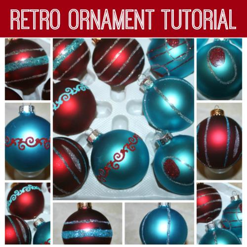 Retro Ornament Tutorial