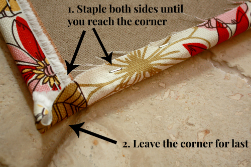 vision corner staples