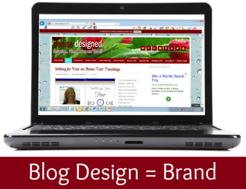 {Blog Tips} Your Blog Design is your Brand