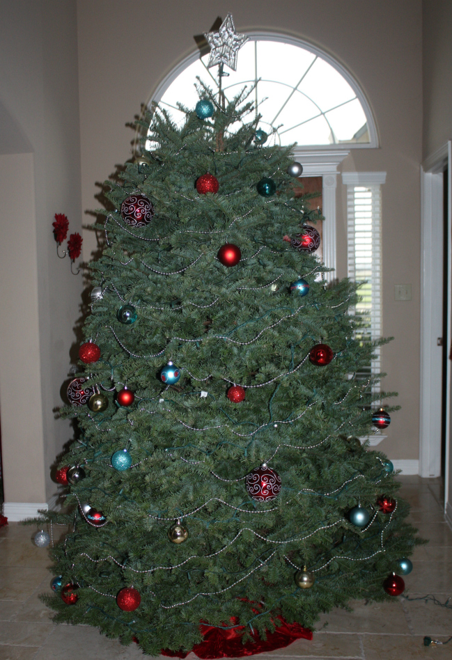 Formal christmas tree