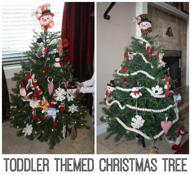 Toddler Themed Christmas Tree 640