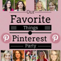 Our Favorite Things Pinterest Party {6}