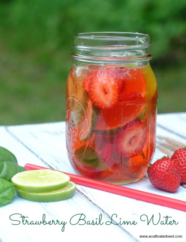 strawberry-basil-lime-infused-water