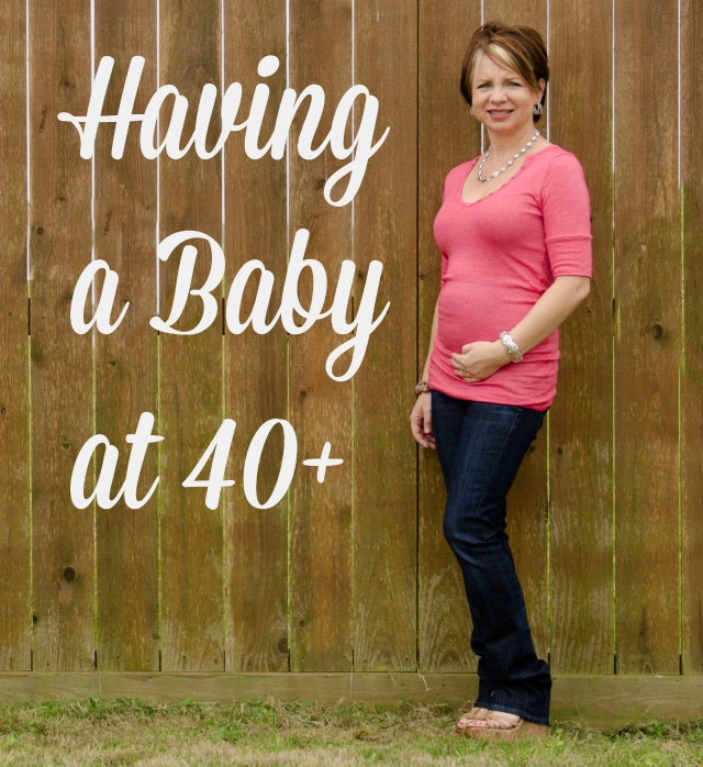 having a baby at 40+