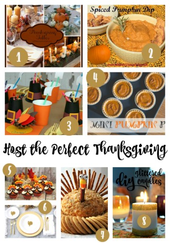 Sunday Features {52} Host the Perfect Thanksgiving