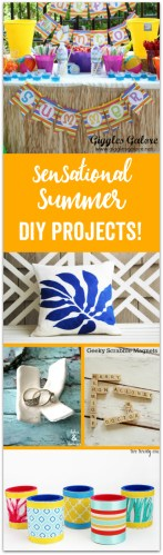 Sensational Summer DIY Projects at Sunday Features of {86}
