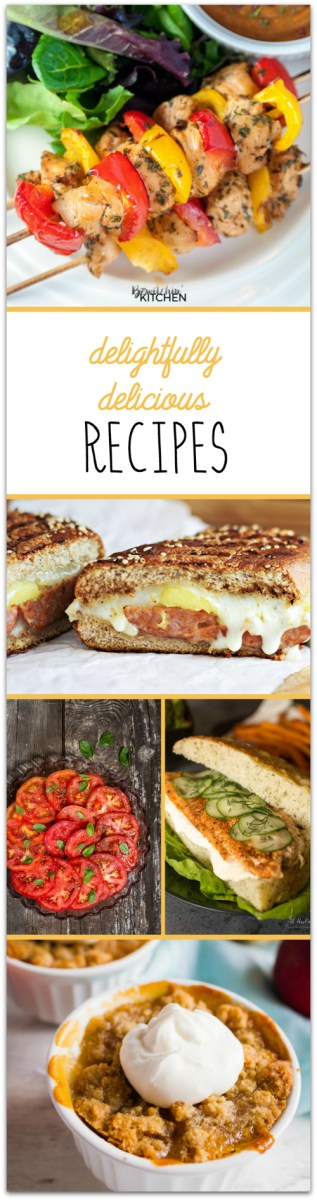 Delicious Recipes at Sunday Features {90}
