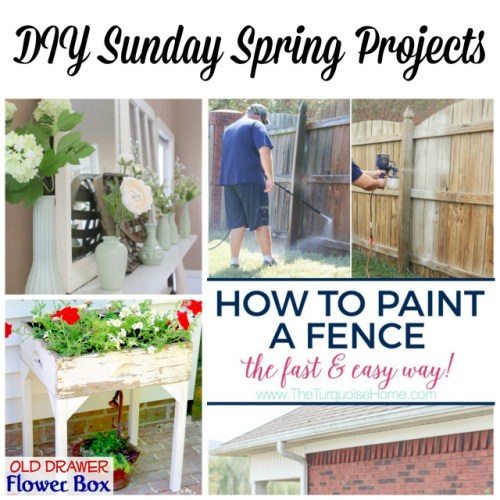 DIY Sunday Spring Projects at Sunday Features {124}